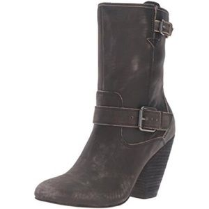 Corso Como distressed leather boots